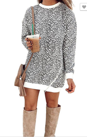 Leopard Snagging Tunic