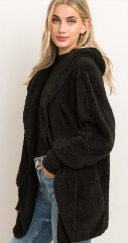 Janny Faux Fur Hooded Jacket