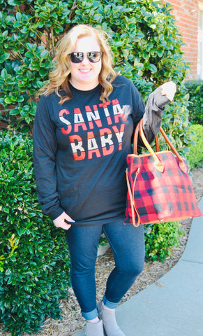 Santa Baby Long Sleeve Tee