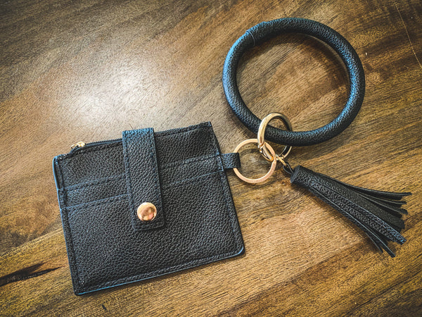 Small Key Ring Wristlet