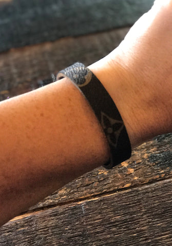 LV Leather Bracelet