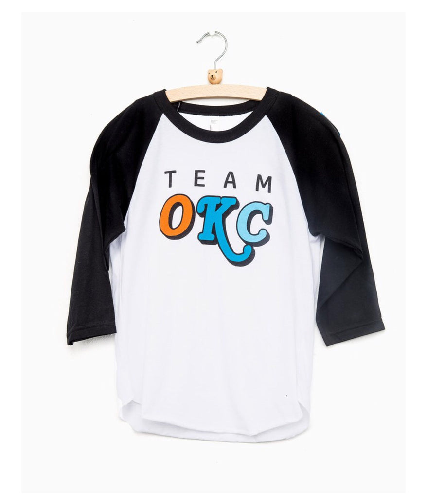 Kids Team OKC Baseball Jersey Tee