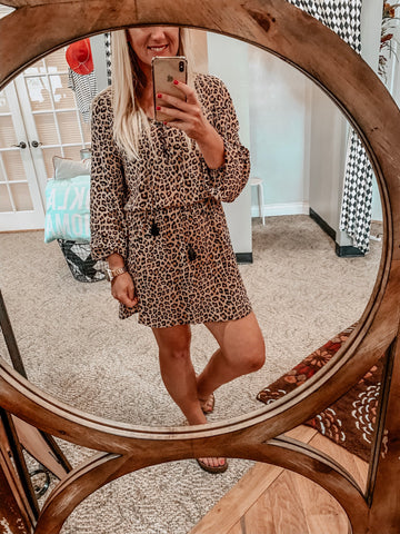 Leopard Anniston Dress