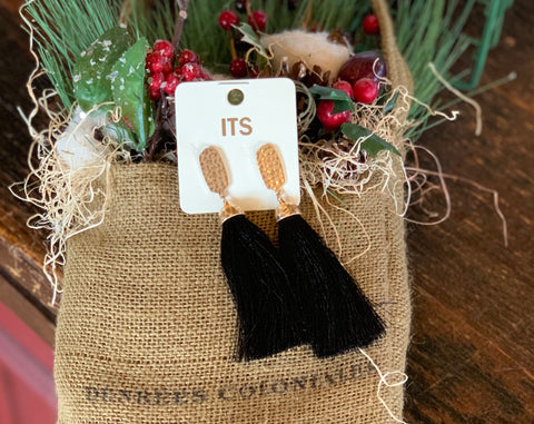 Single Tassel Earrings