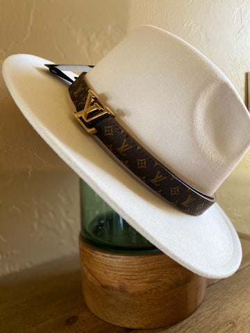 Two tone Louis Detail Hat