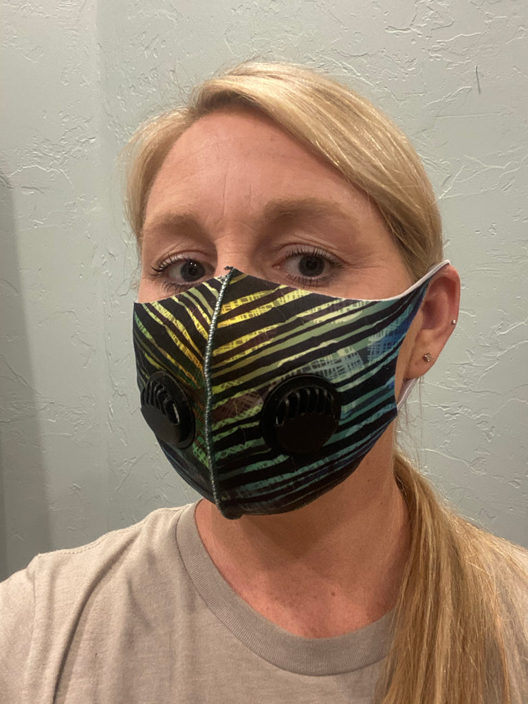 Printed Breathing Valve Mask