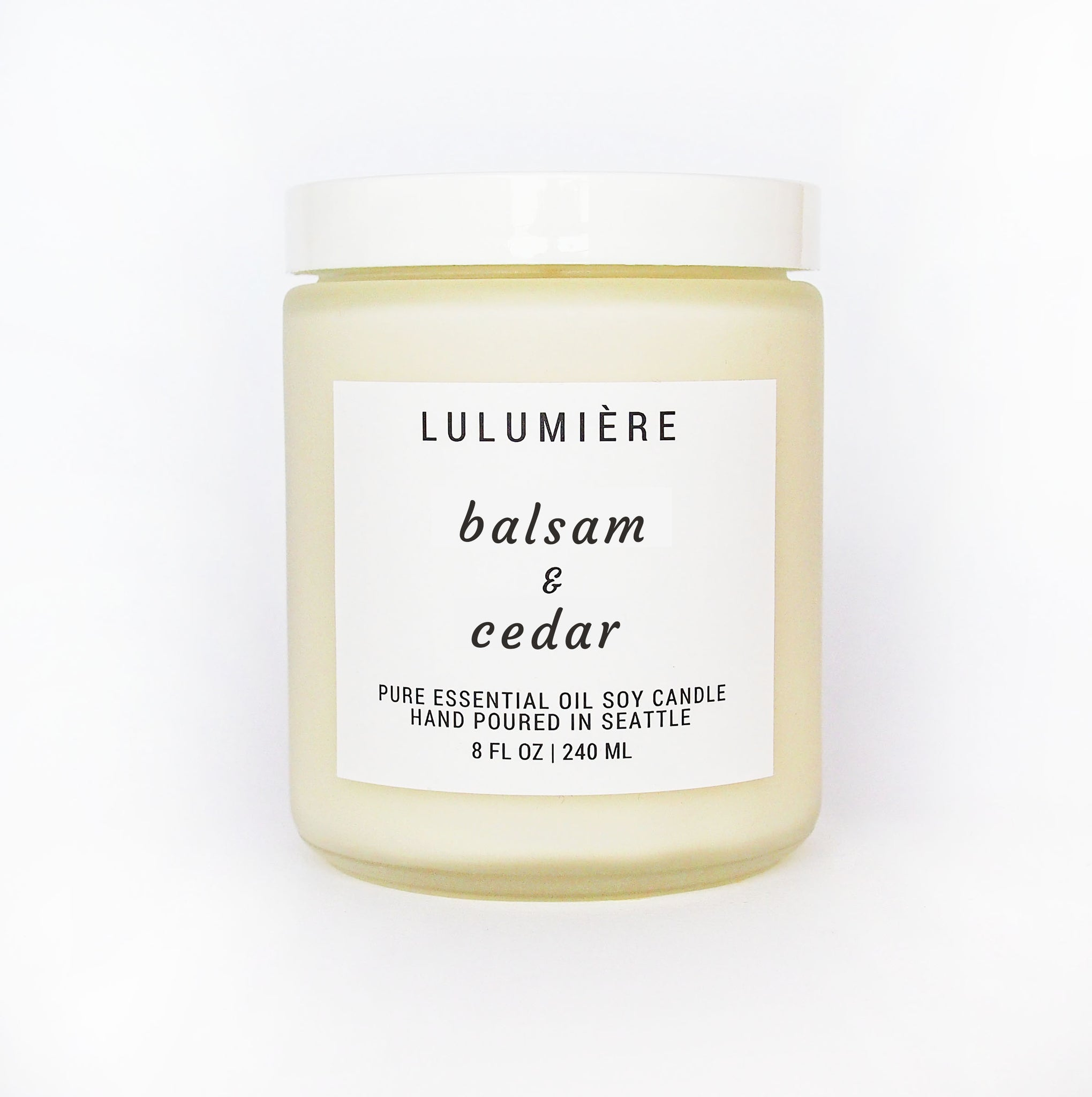 Balsam & Cedar 100% Essential Oil Candle