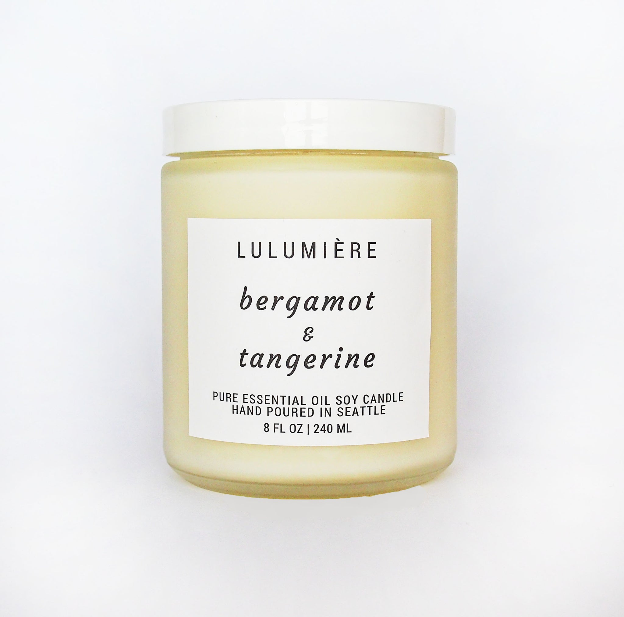 Bergamot & Tangerine 100% Essential Oil Candle