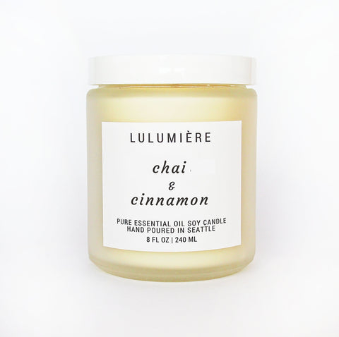 Chai & Cinnamon 100% Essential Oil Candle