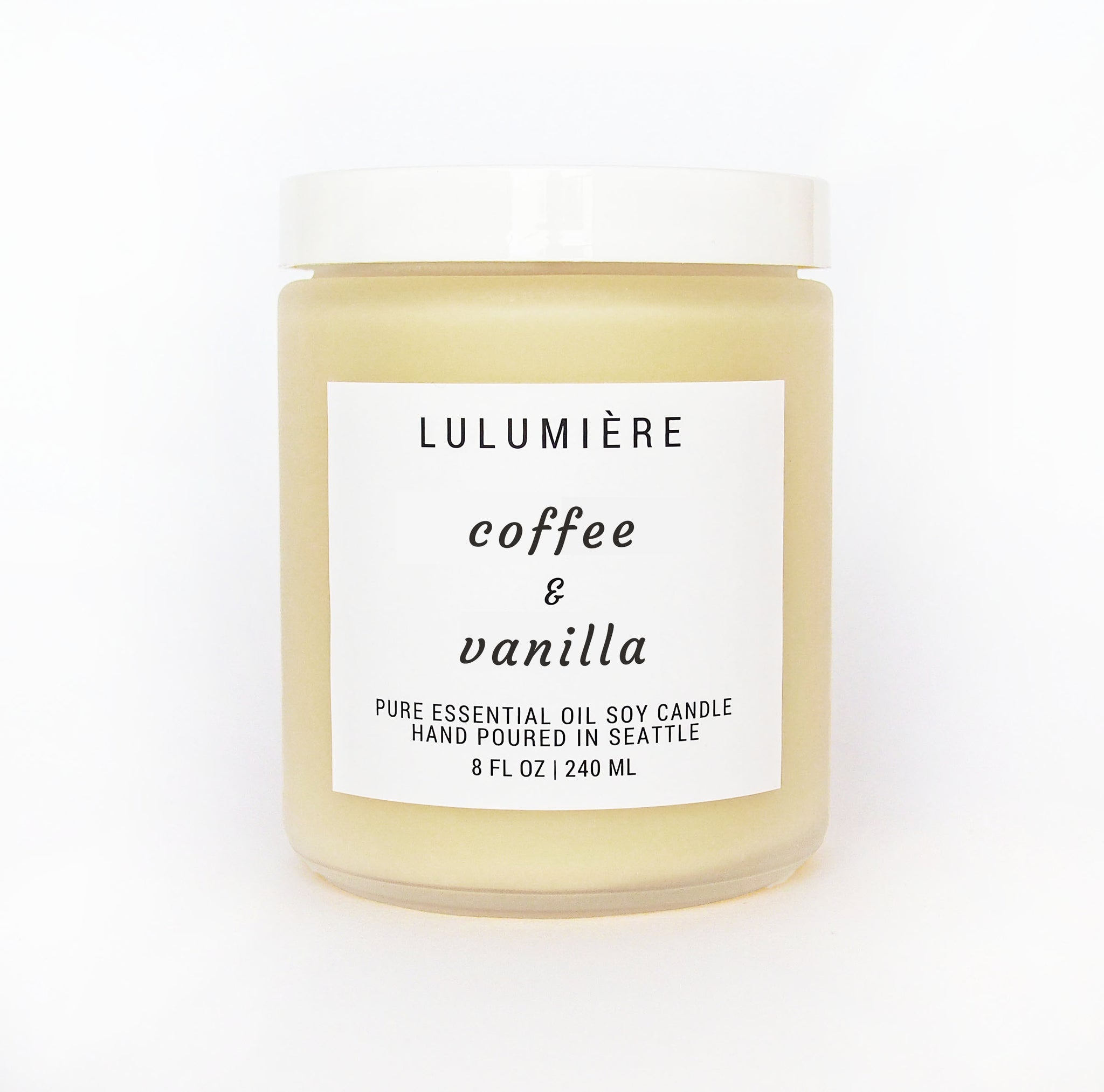 Coffee & Vanilla 100% Essential Oil Candle