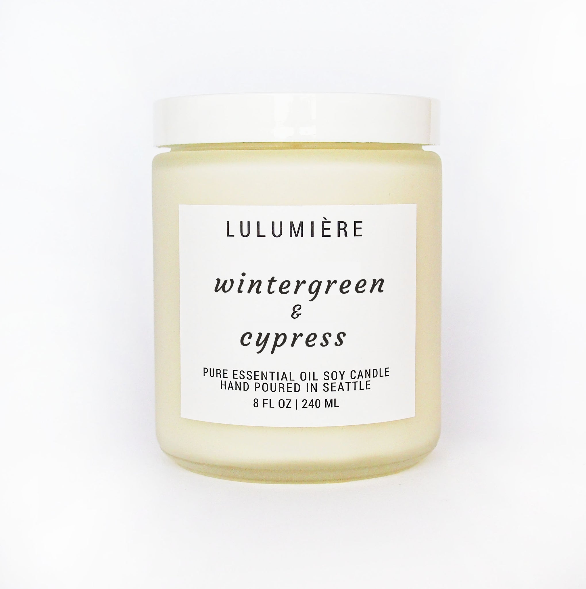 Wintergreen & Cypress 100% Essential Oil Candle