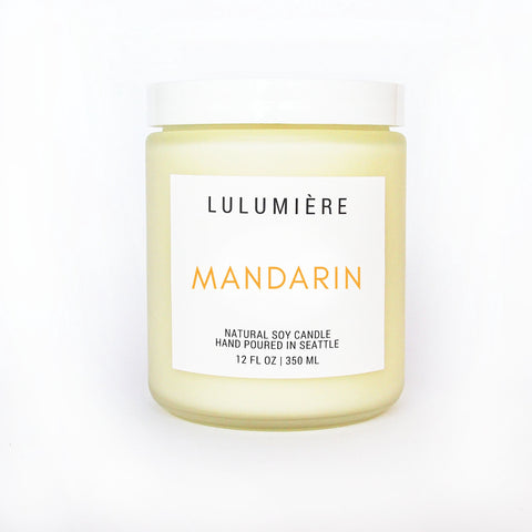 Mandarin Signature Candle