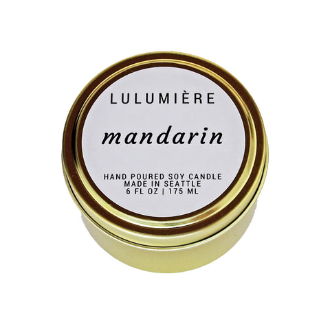 Mandarin Signature Gold Tin