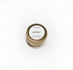 Winter Signature Mini Candle