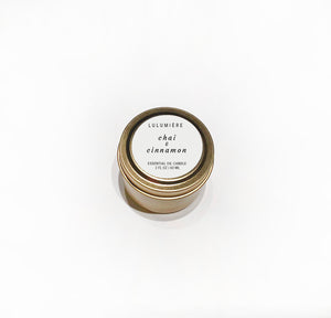 Chai & Cinnamon Mini 100% Essential Oil Candle