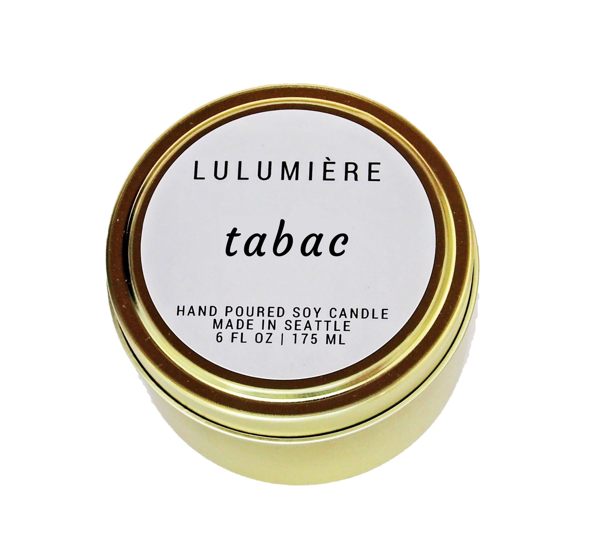 Tabac Signature Gold Tin