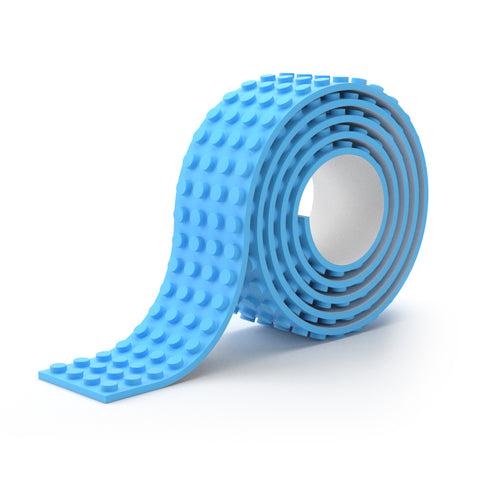 Buildr TAPE™ - Wide Peel 'n Stick Building Block Tape (10 COLORS)