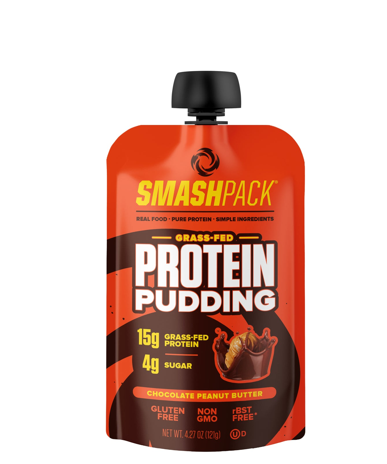 Chocolate Peanut Butter Protein Pudding Sports Nutrition- SMASHPACK