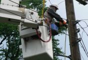 dielectric testing- bucket truck