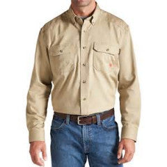 Ariat FR Khaki Work Shirt ATPV 8.9 HRC2