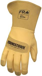 12-3275-60 Youngstown FR Leather Utility Plus Work Glove
