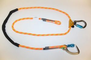 13821 Jelco - 8' Adjustable Rope Safety w/ Aluminum snap hook
