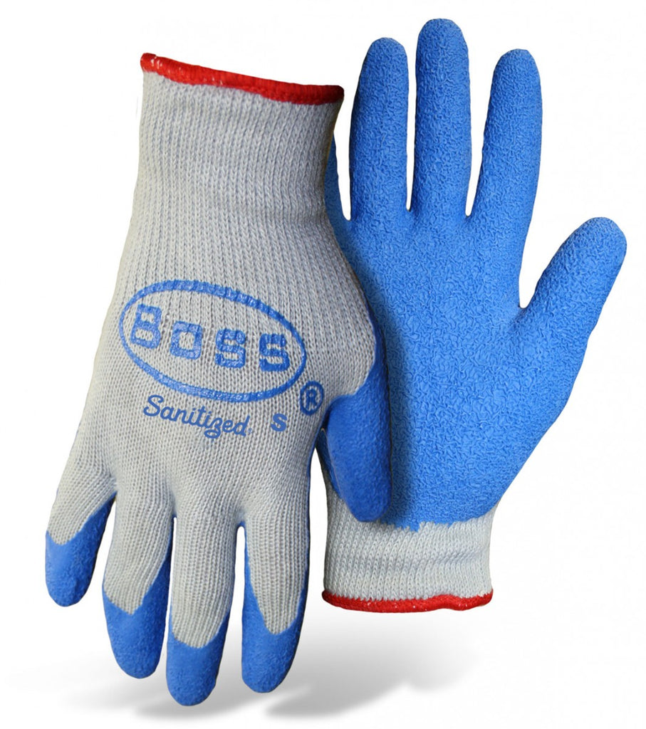 Boss Gloves - Rubber Coated String Knit