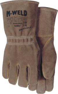 2100/10 LG Brown FR Lined Kevlar Welders Glove