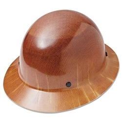 MSA - HARD HAT TAN FULL BRIM