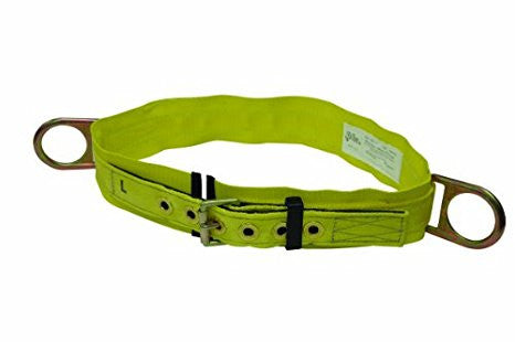 "Elk River Double D Body Belt 3"" pad 2-D Rings"