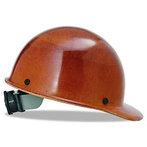 MSA - Skullgard Protective Cap Natural Tan - w/ Fas-Trac Suspension