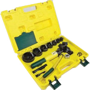 L.H. Dottie - 13 Piece Hydraulic Punch Kit 1/2'' - 2-1/2'' 12 Ton Capacity