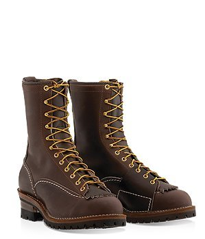 Westcoast Shoe - 10'' Lineman's Boot Brown
