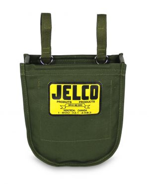 Jelco - Bolt Bag in Green Canvas 8 x 10 x 3