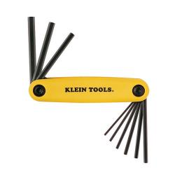 Klein Tools - 9-Key Fold-Up Tool Set