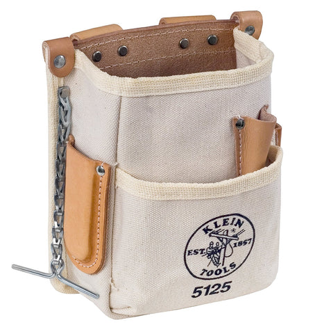 Klein Tools - 5-Pocket Canvas Tool Pouch