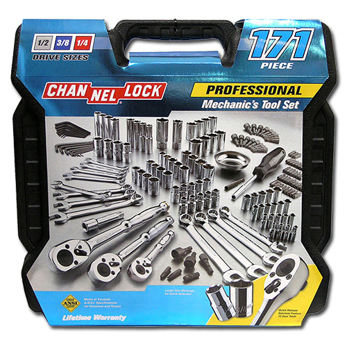 Channellock - 171PC Mechanics Tool Set