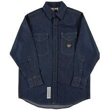 RASCO FR 11.5 oz. Denim 20 cal. Snap-Front Shirt
