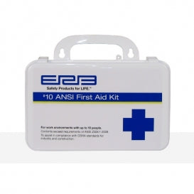 ERB Safety - 10 Person Plastic First Aid Kit