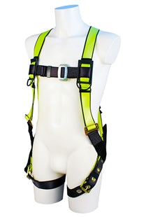 Fall Safe - Single D Harness w/ Grommett Legs