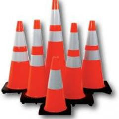 "RS90045CT3M64 10LB  36"" Orange Reflective Cones"