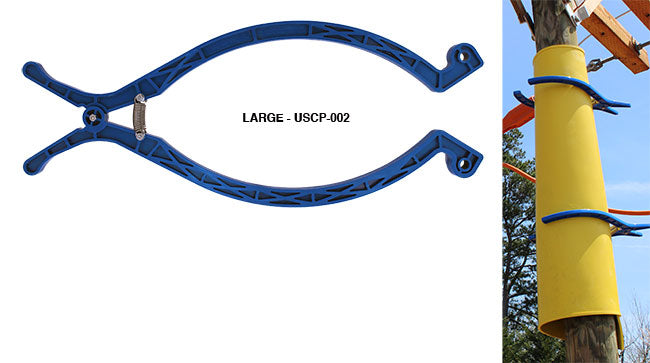 "USCP-002 OVERSIZED ""KLONDIKE CLAMP"" INSULATING BLANKET CLOTHESPIN"