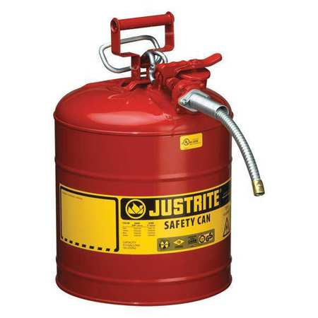 Justrite - 5gal Type II Safety Can ( Red )