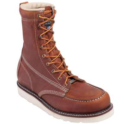 Carolina Shoe Co. - 8'' Moc-Toe Wedge Work Boot Carolina