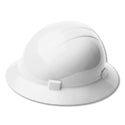 ERB Safety - White Americana Full Brim Hard Hat W/ Ratchet