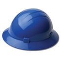 ERB Safety - Blue Americana Full Brim Hard Hat W/ Ratchet