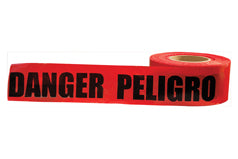 ERB Safety - Barricade Tape '' Danger '' 3'' x 1000'