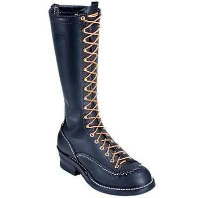 Westcoast Shoe - Wesco® 16'' Linemans Boot Black