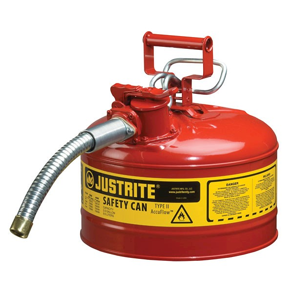 Justrite - 1gal Safety Gas Can