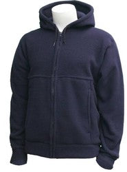 N.S.A. - FR Hooded Pullover Sweatshirt Navy W/Drawstring